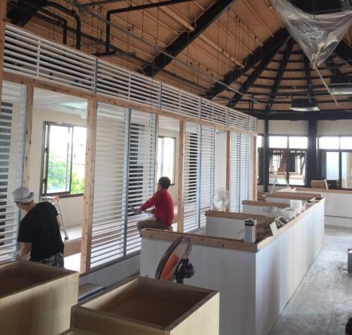 沖縄の2世帯住宅のリフォーム