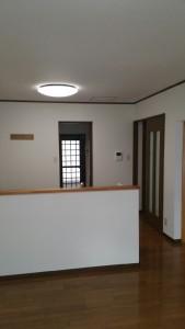 床と壁のリフォーム1