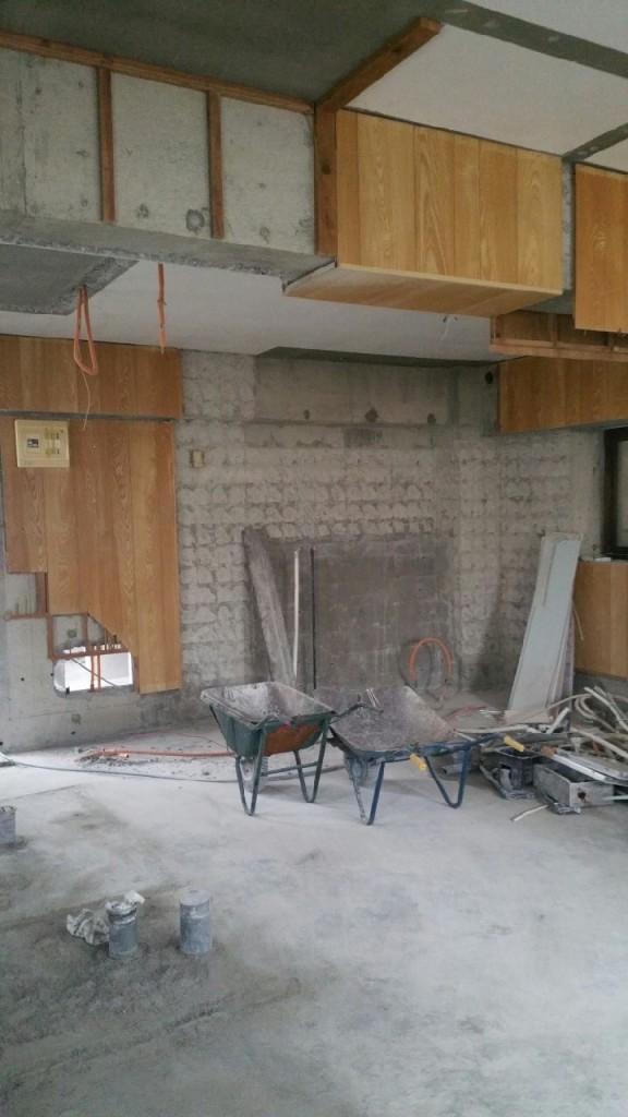 2世帯住宅のリフォーム 施工前5