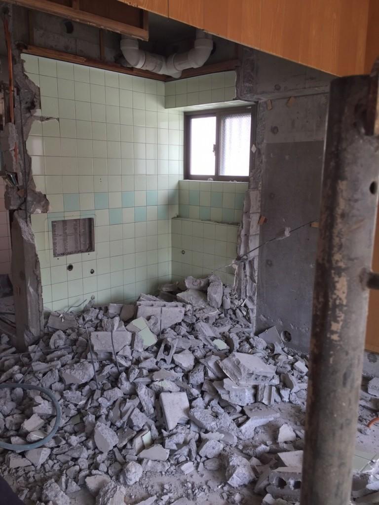2世帯住宅のリフォーム 施工前8