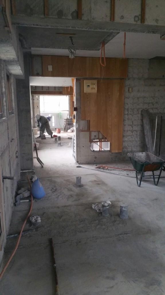 2世帯住宅のリフォーム 施工前6