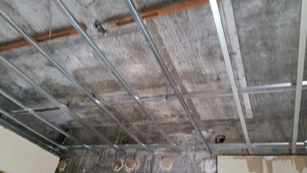 天井のリフォーム施工前