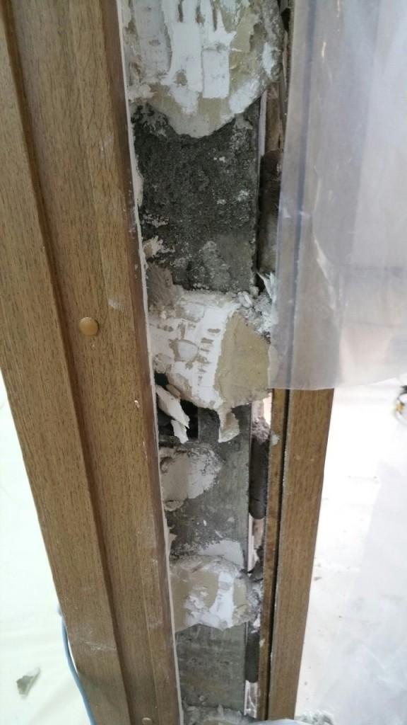 ドアのリフォーム施工前 続き