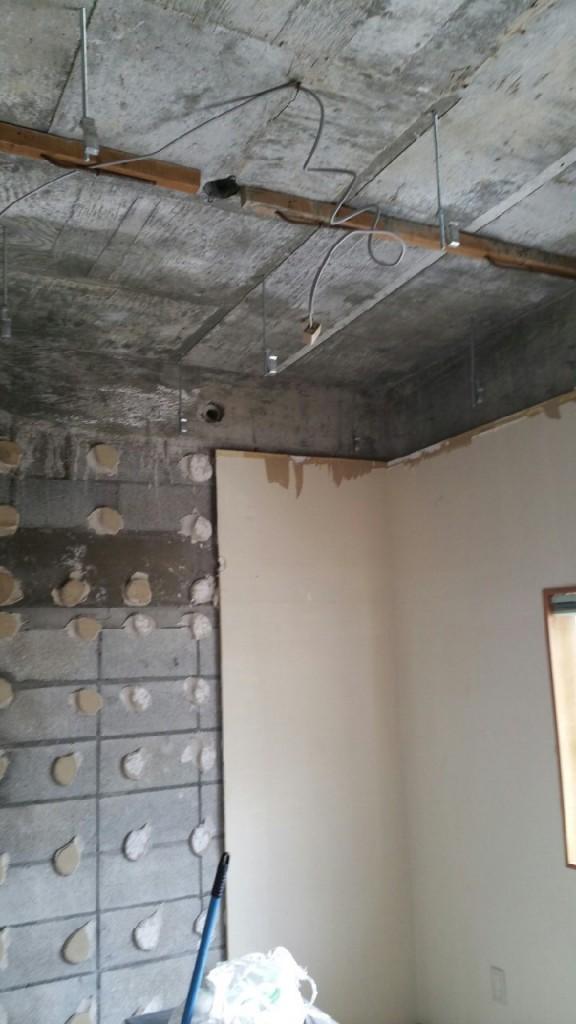 壁のリフォーム施工前