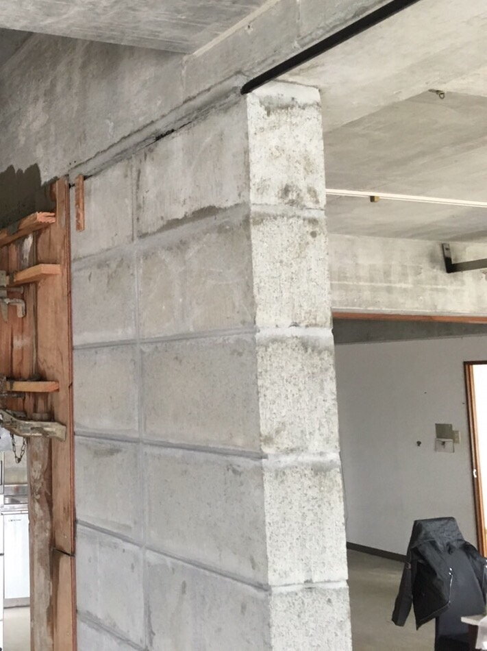 沖縄の増築、現場写真1