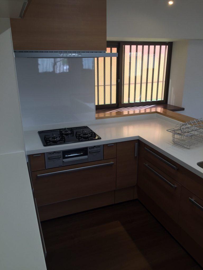 2世帯住宅キッチン リフォーム施工後3