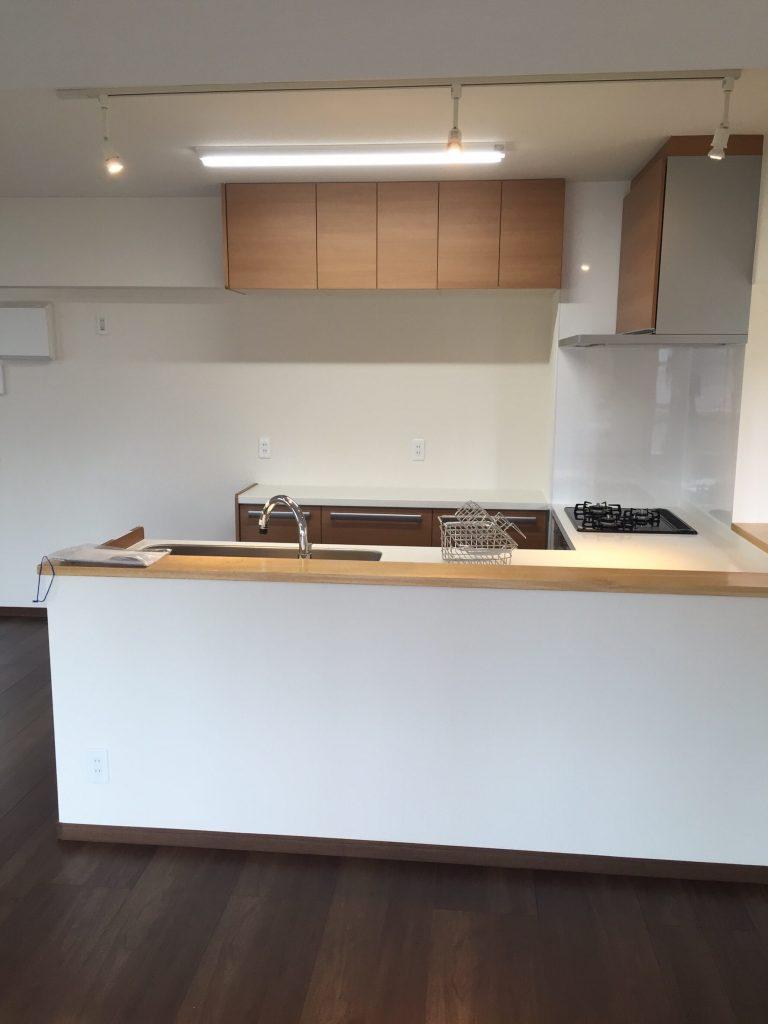 2世帯住宅キッチン リフォーム施工後4