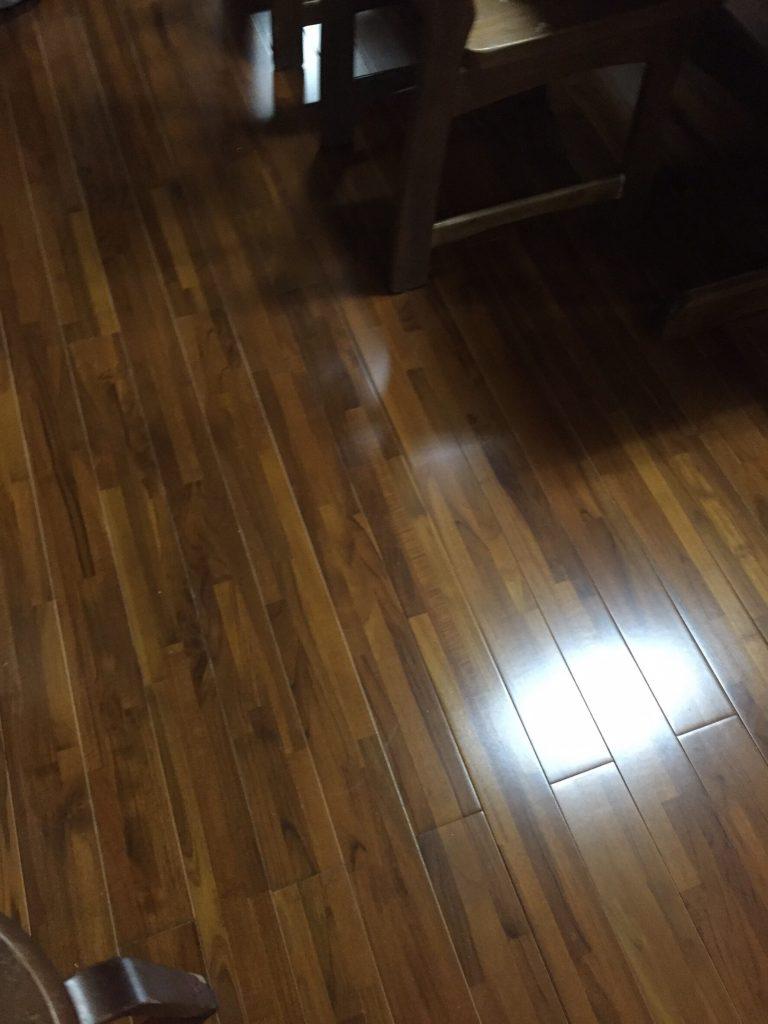 床のリフォーム 施工後