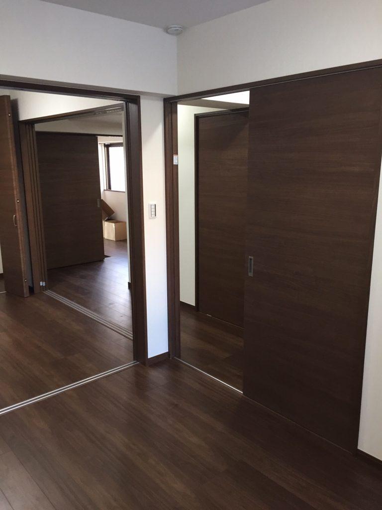 床と壁のリフォーム 施工後6