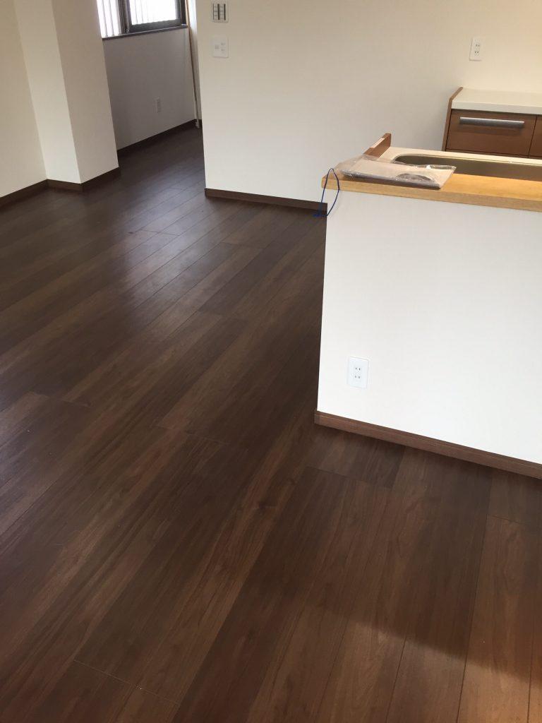 床と壁  リフォーム施工後  5