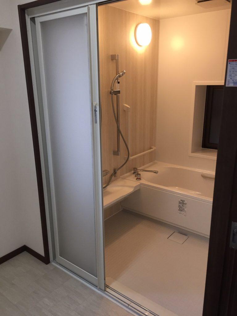 浴室 リフォーム施工後1