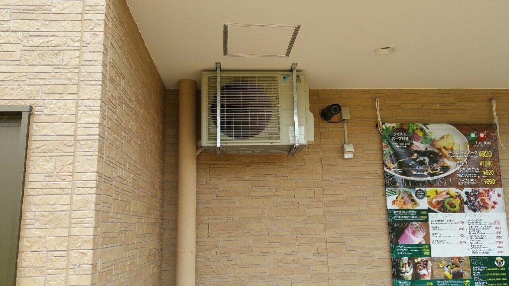 エアコン設置後2