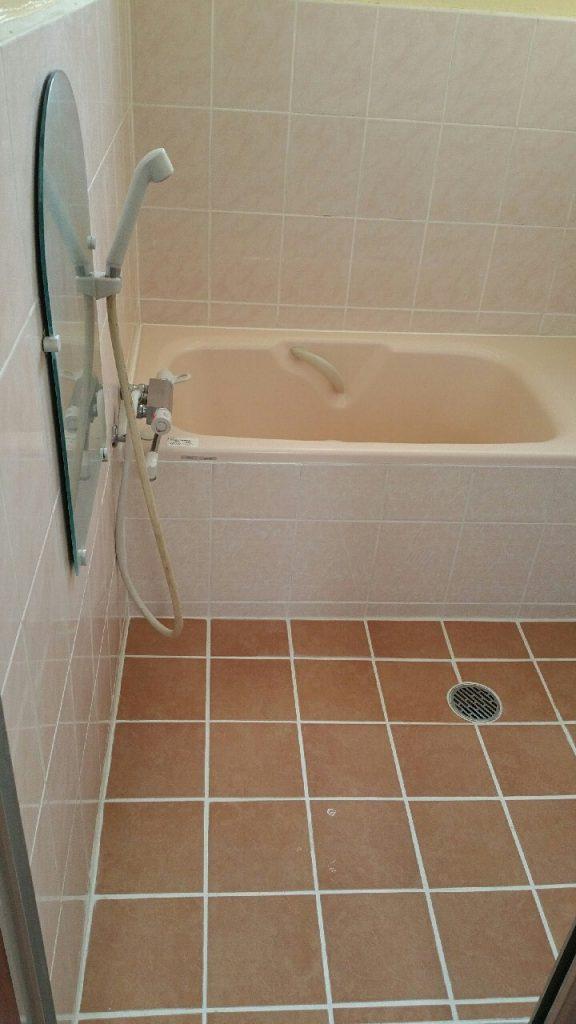 浴室のリフォーム 施工後①
