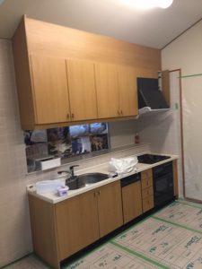 キッチンのリフォーム 施工前